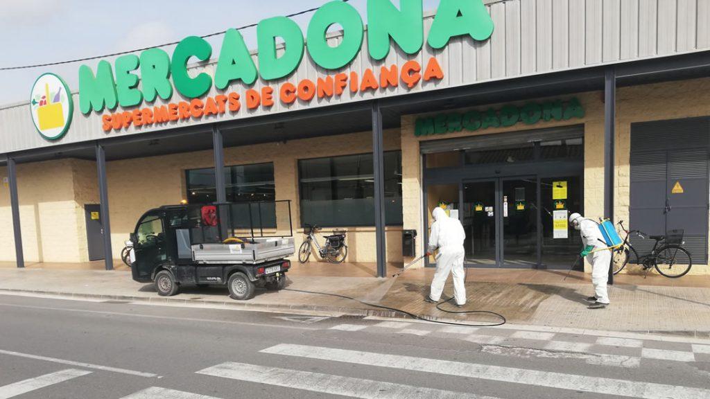 Limpieza Viaria Deltebre Supermercados INNOVIA COPTALIA