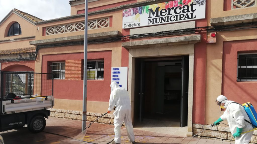 Limpieza Viaria Deltebre Mercado Municipal INNOVIA COPTALIA