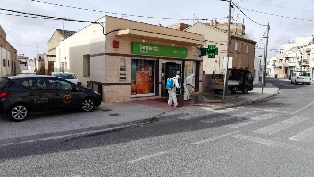 Limpieza Viaria Deltebre Farmacias INNOVIA COPTALIA