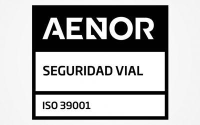 Innovia Coptalia obtiene la certificación en Seguridad Vial ISO 39001:2013